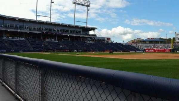 PNC Field, sección: 14, fila: 1, asiento: 1
