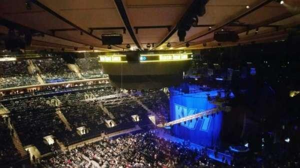 Madison Square Garden, sección: 311, fila: 1, asiento: 5