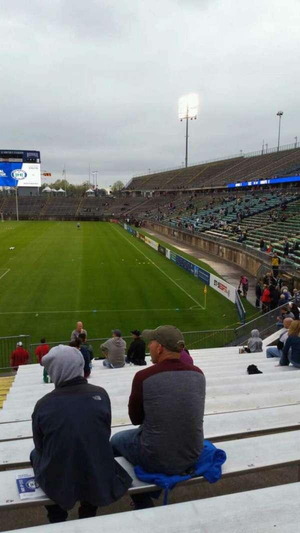 Rentschler Field, sección: 113, fila: 16, asiento: 46