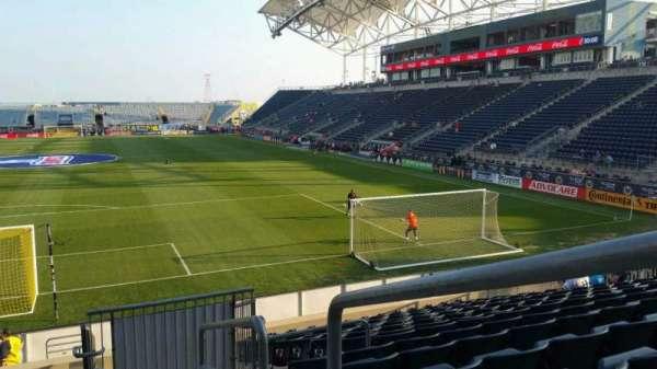 Talen Energy Stadium, sección: 117, fila: Q, asiento: 1