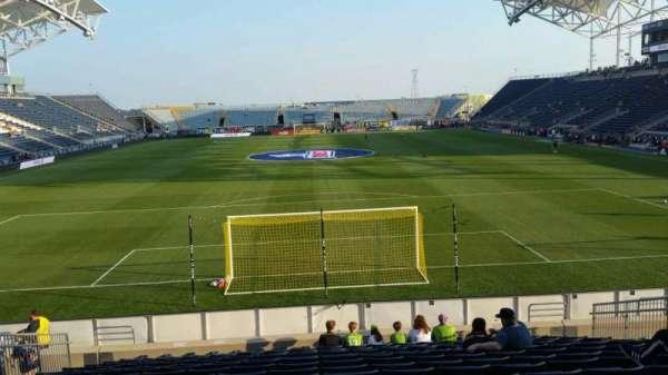 Talen Energy Stadium, sección: 117, fila: Q, asiento: 14