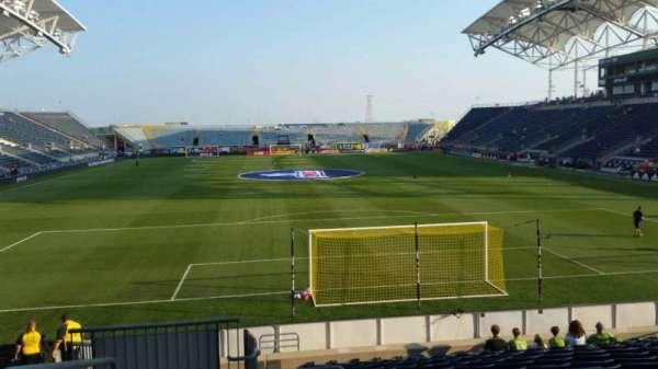 Talen Energy Stadium, sección: 117, fila: Q, asiento: 24