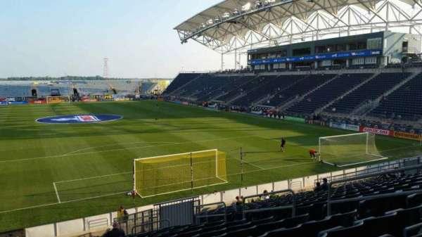 Talen Energy Stadium, sección: 118