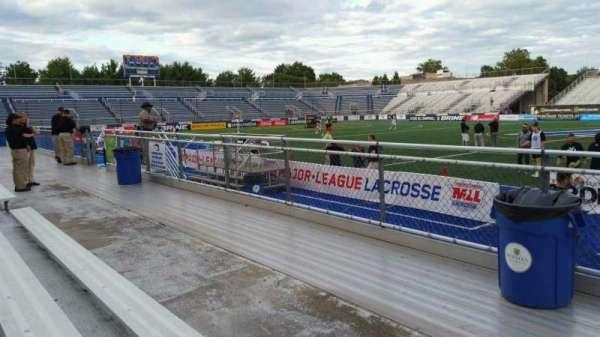 James M. Shuart Stadium, sección: 3, fila: 3, asiento: 13