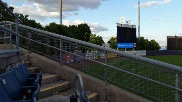 Richmond County Bank Ballpark, sección: 1, fila: J, asiento: 18