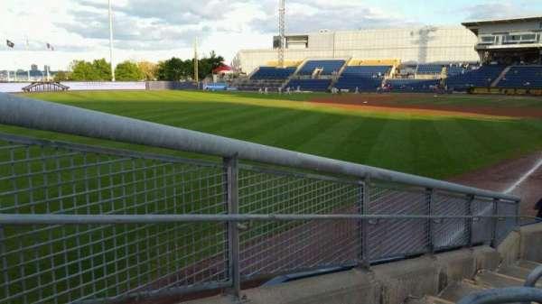 Richmond County Bank Ballpark, sección: 1, fila: J, asiento: 24