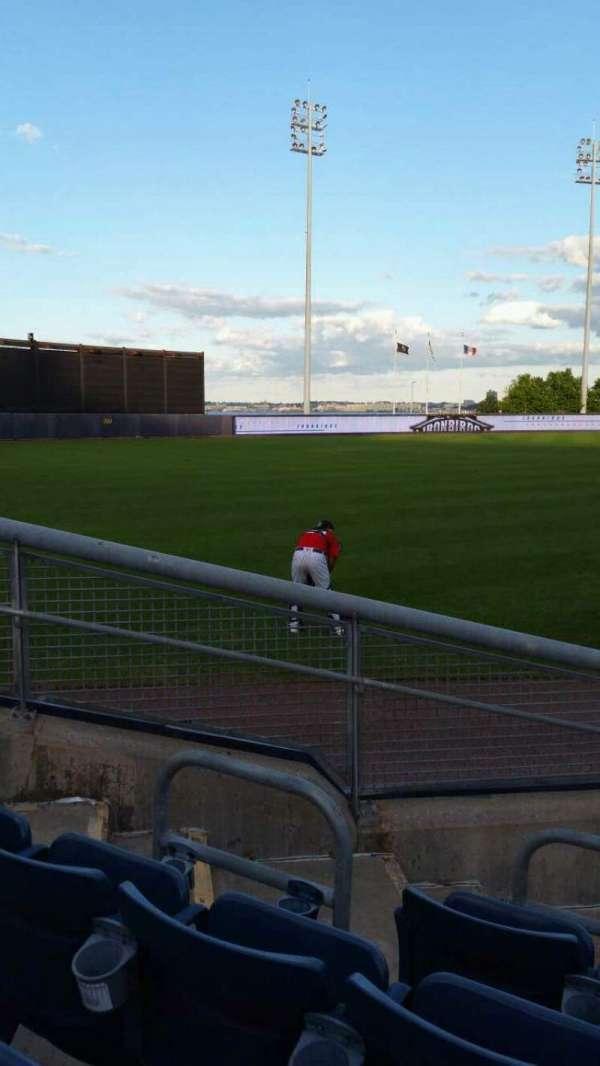 Richmond County Bank Ballpark, sección: 1, fila: F, asiento: 11