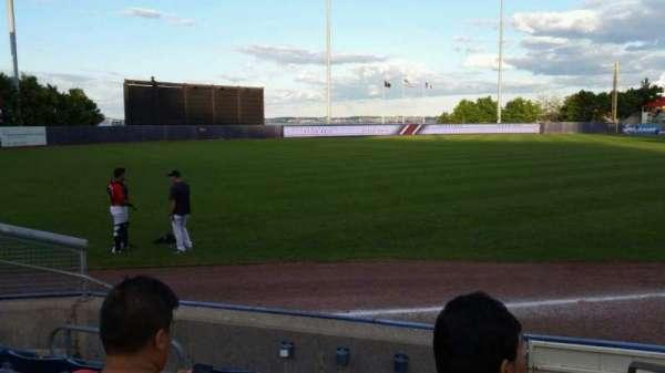 Richmond County Bank Ballpark, sección: 1, fila: F, asiento: 1