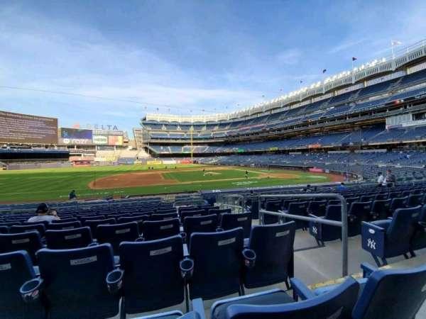 Yankee Stadium, sección: 125, fila: 11, asiento: 2