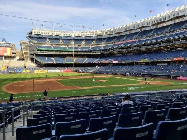 Yankee Stadium, sección: 125, fila: 12, asiento: 8