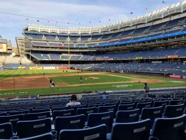 Yankee Stadium, sección: 125, fila: 12, asiento: 6