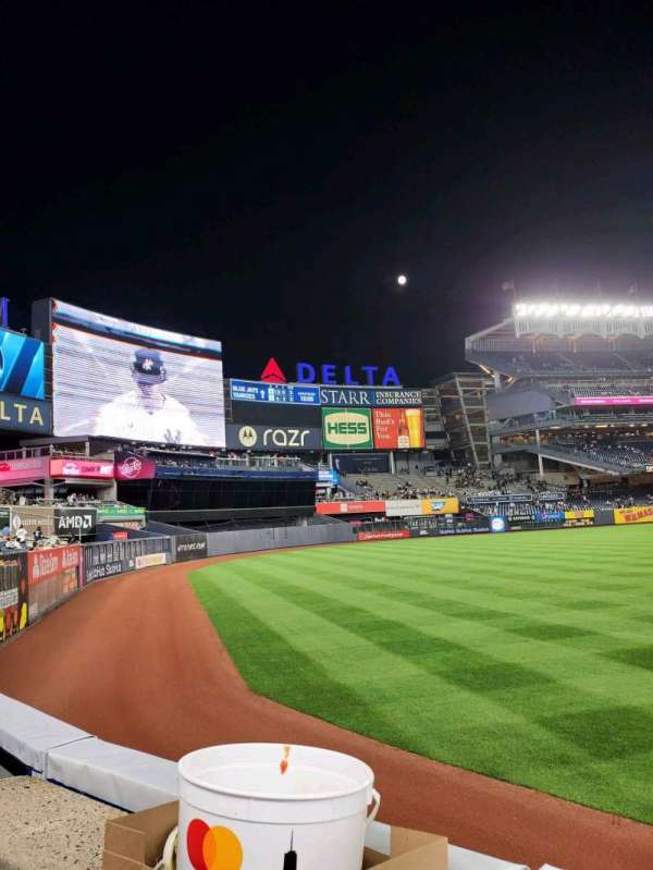 Yankee Stadium, sección: 132, fila: 1, asiento: 15