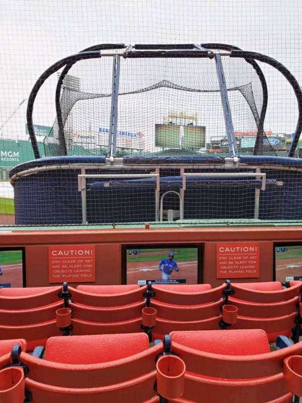 Fenway Park, sección: Field Box 45, fila: A, asiento: 2
