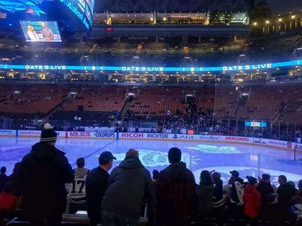 Scotiabank Arena, sección: 107, fila: 11, asiento: 10