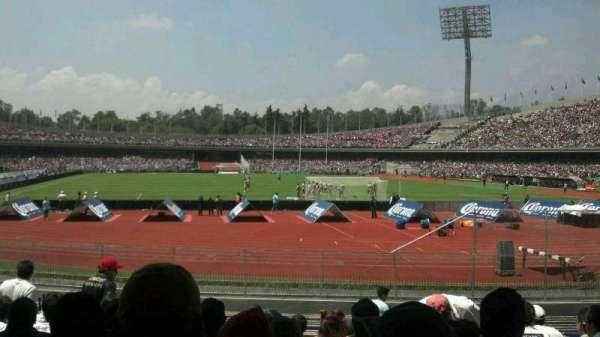 Estadio Olímpico Universitario, sección: Planta Baja