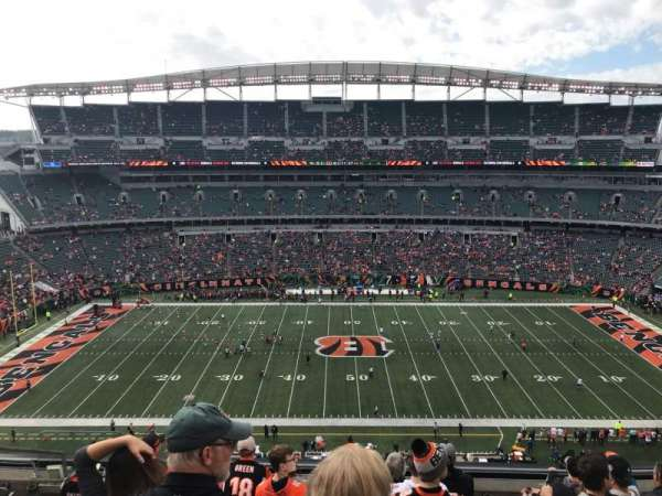Paul Brown Stadium, sección: 340, fila: 8, asiento: 17