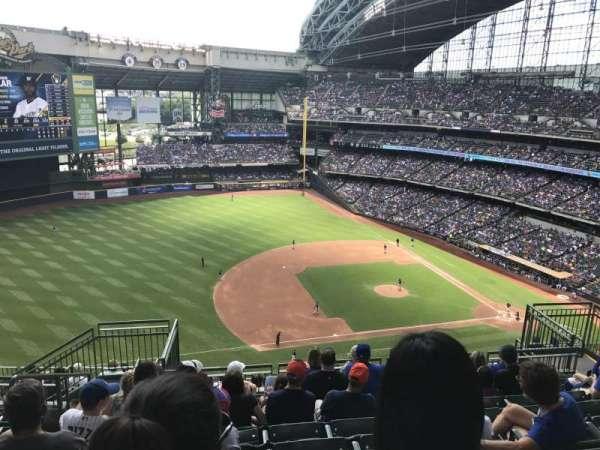 Miller Park, sección: 431, fila: 15, asiento: 12