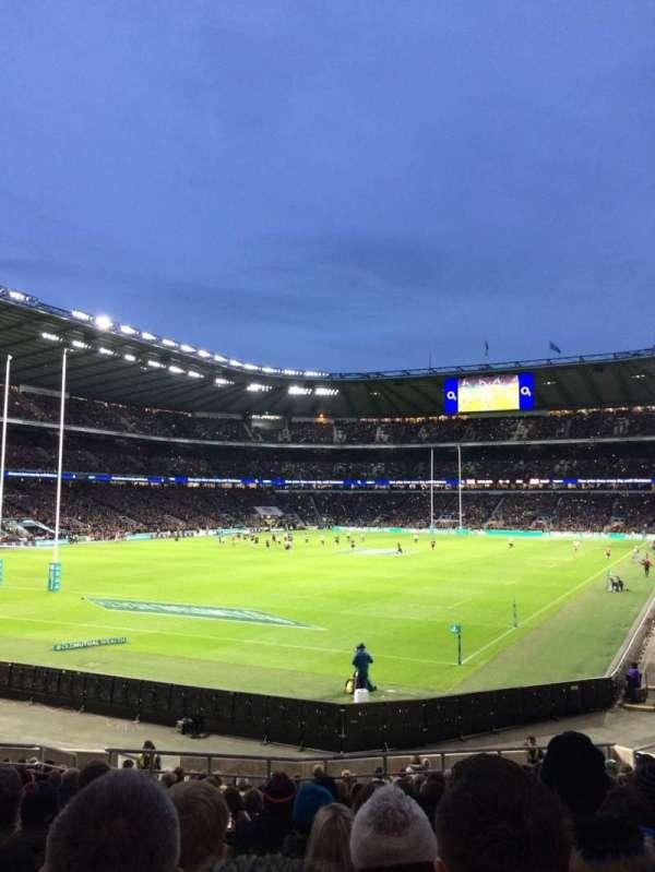 Twickenham Stadium, sección: L31, fila: 23, asiento: 62