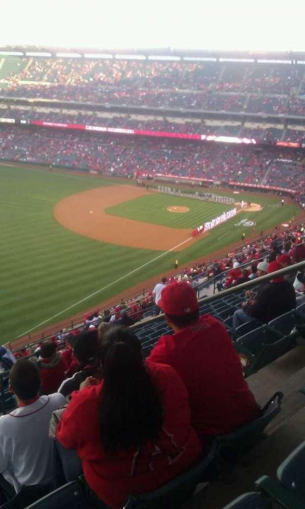 Angel Stadium, sección: V506, fila: n, asiento: 18