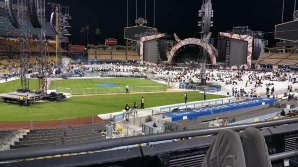 Dodger Stadium, sección: 122lg, fila: B, asiento: 2