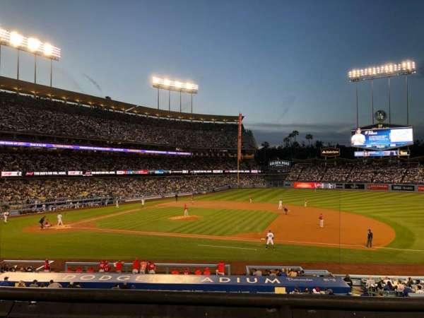 Dodger Stadium, sección: 136LG, fila: B, asiento: 2