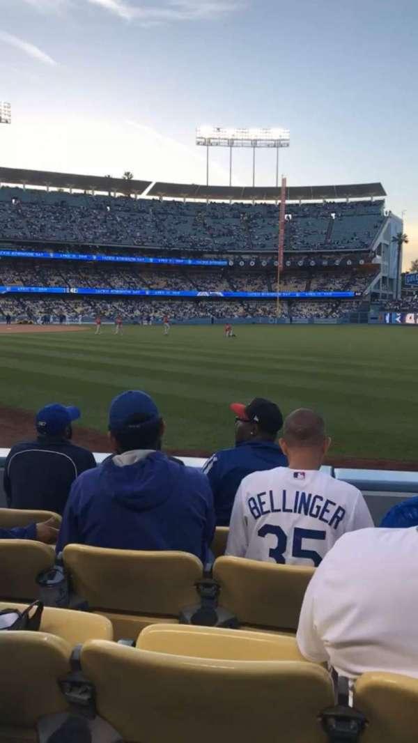 Dodger Stadium, sección: 48FD, fila: D, asiento: 7