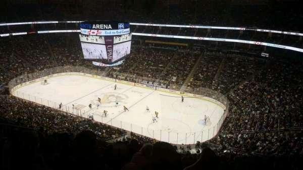 PPG Paints Arena, sección: 216, fila: M, asiento: 13