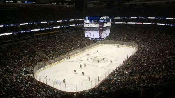 PPG Paints Arena, sección: 208, fila: H, asiento: 5