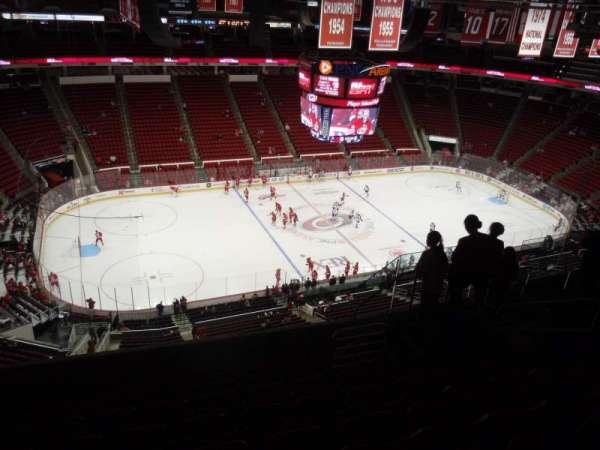 PNC Arena, sección: 306, fila: H, asiento: 8