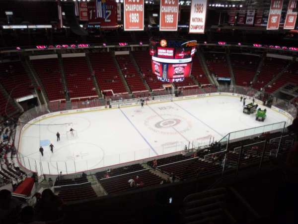 PNC Arena, sección: 326, fila: F, asiento: 6