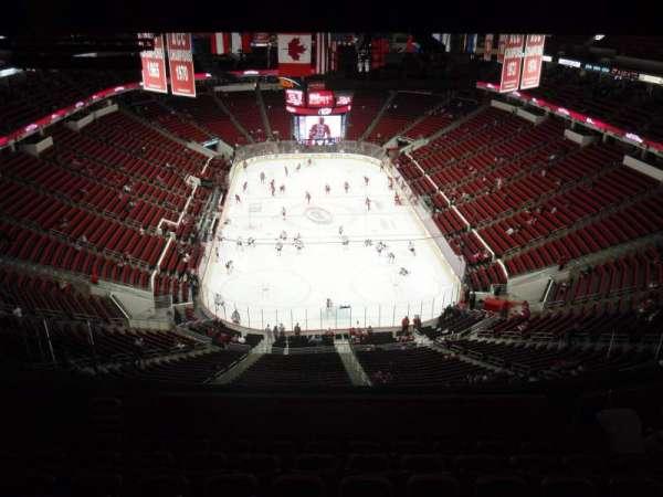 PNC Arena, sección: 333, fila: L, asiento: 25