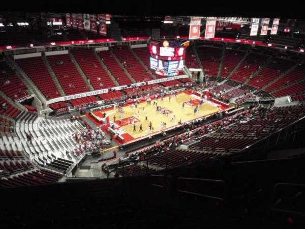 PNC Arena, sección: 308, fila: L, asiento: 4