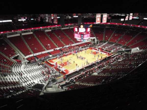 PNC Arena, sección: 308, fila: L, asiento: 14