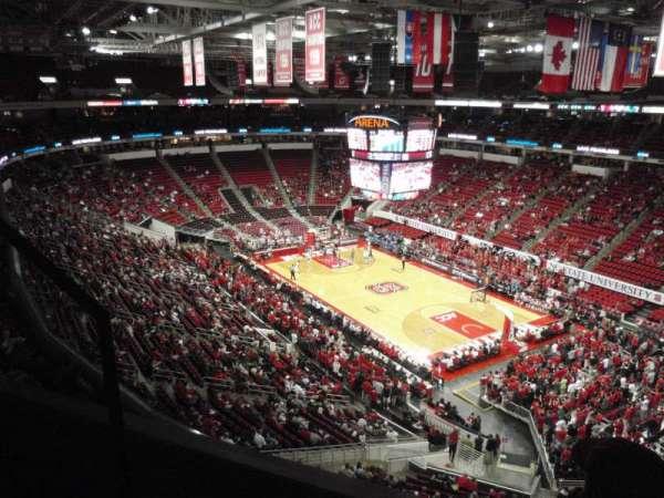 PNC Arena, sección: 337, fila: A, asiento: 1