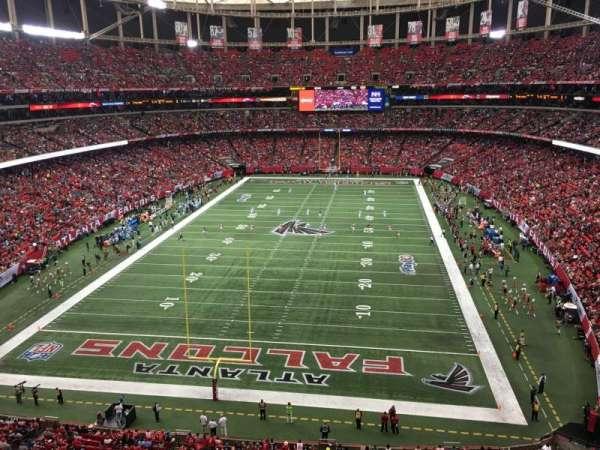 Georgia Dome, sección: 333, fila: 1, asiento: 7