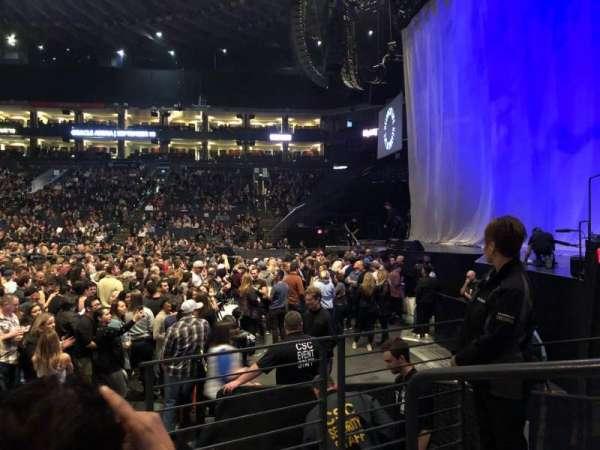 Oracle Arena, sección: 127, fila: 3, asiento: 1