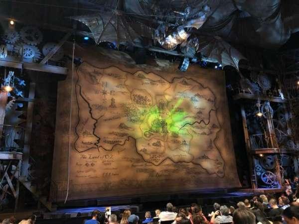 Gershwin Theatre, sección: Orch, fila: H, asiento: 2