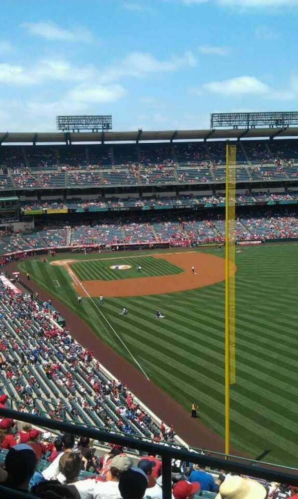 Angel Stadium, sección: V538, fila: a , asiento: 1