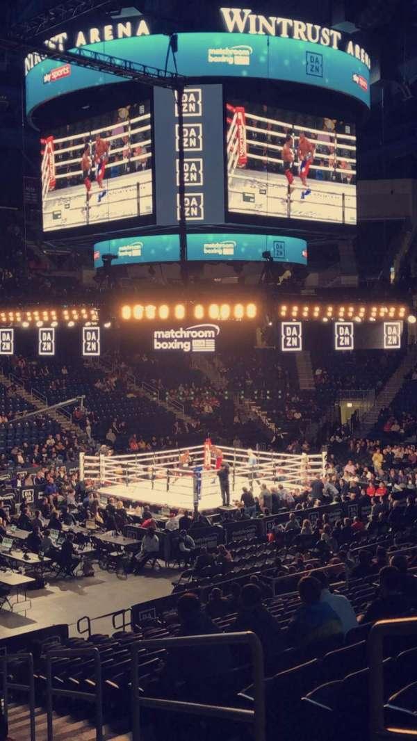 Wintrust Arena, sección: 113, fila: N, asiento: 2