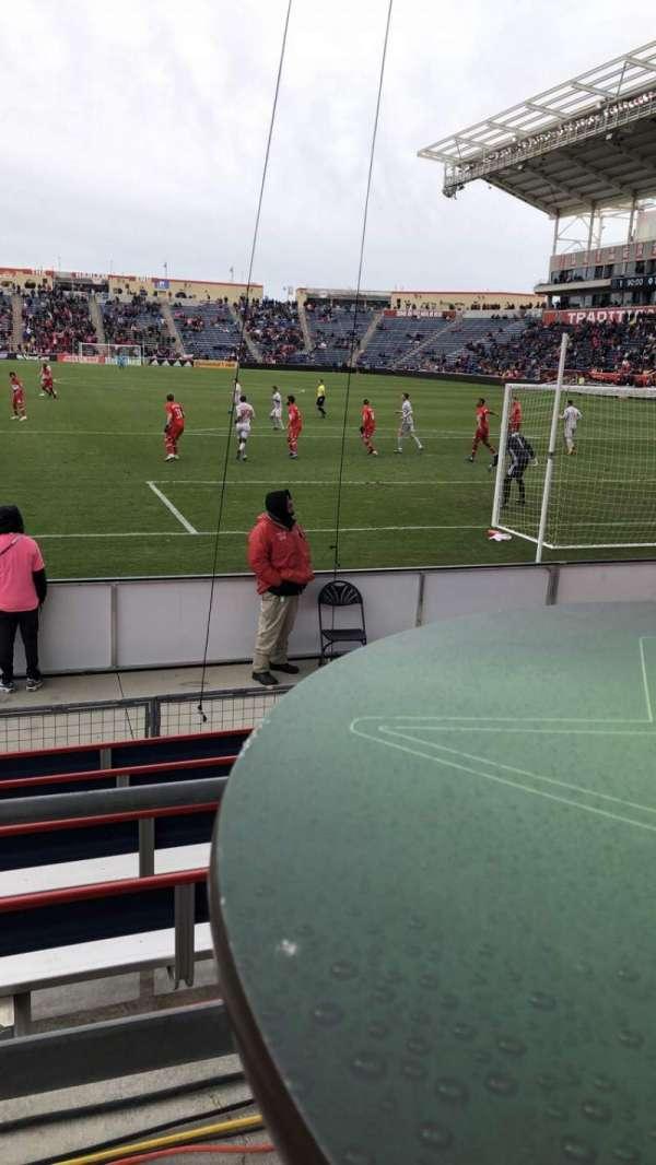 SeatGeek Stadium, sección: 138
