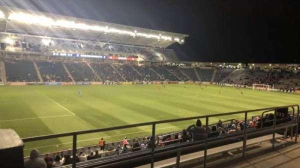 SeatGeek Stadium, sección: 132, fila: 25, asiento: 1