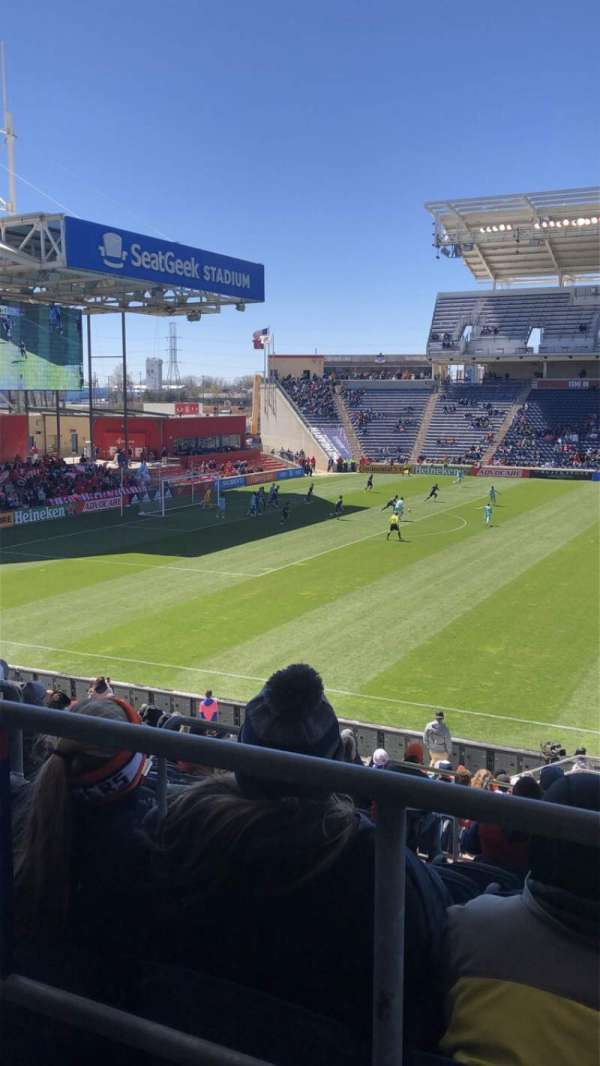 SeatGeek Stadium, sección: 129, fila: 20, asiento: 20
