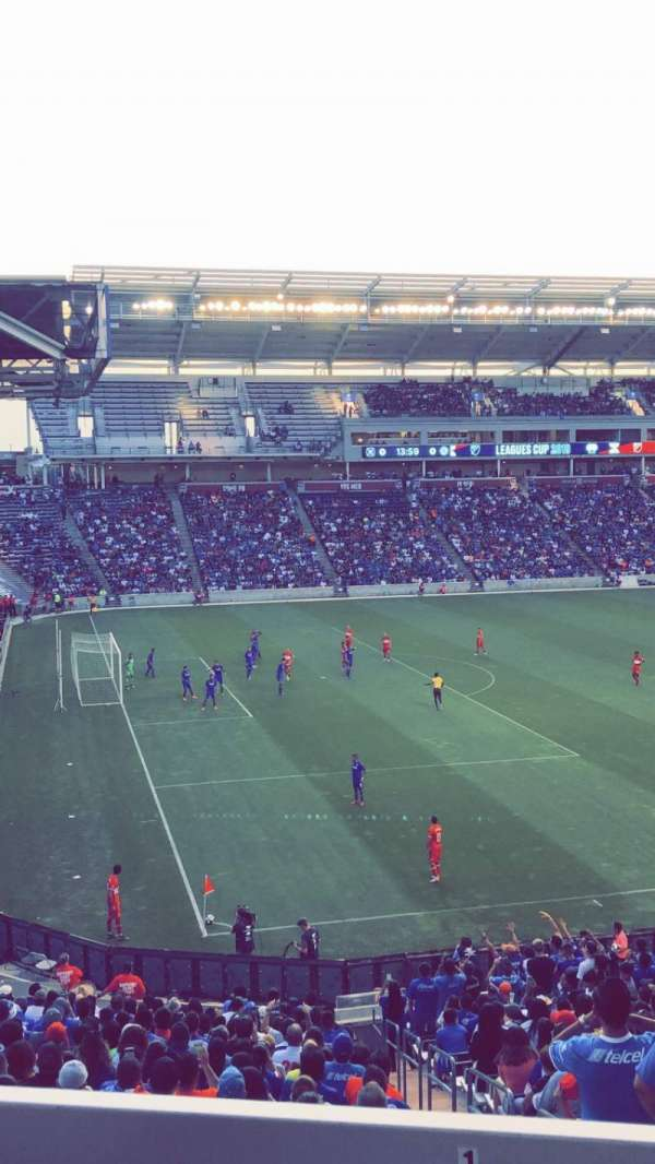 SeatGeek Stadium, sección: 132, fila: 25, asiento: 5