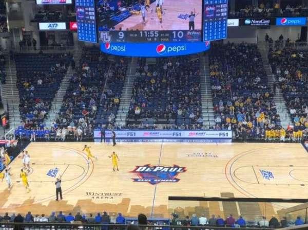 Wintrust Arena, sección: 225, fila: K, asiento: 4