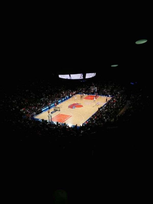 Madison Square Garden, sección: 419, fila: 6, asiento: 9