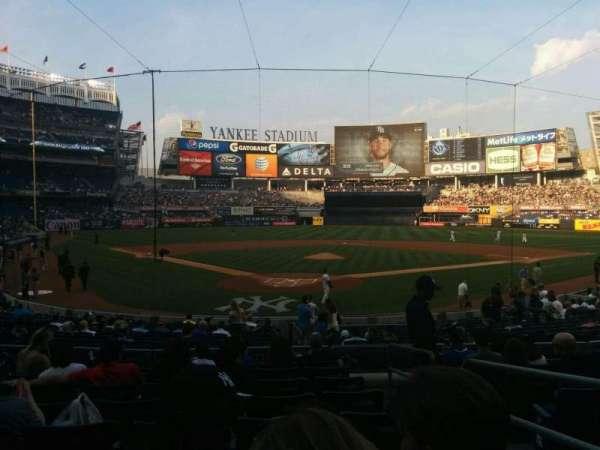 Yankee Stadium, sección: 120a, fila: 20, asiento: 2