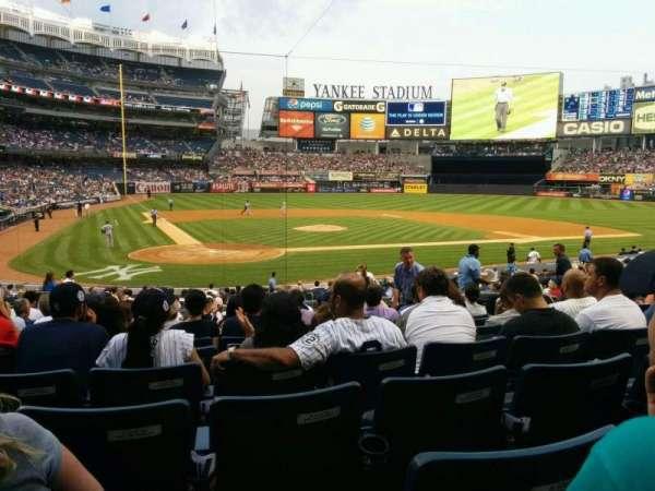 Yankee Stadium, sección: 118, fila: 24, asiento: 5