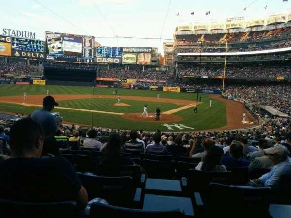 Yankee Stadium, sección: 121a, fila: 26, asiento: 8