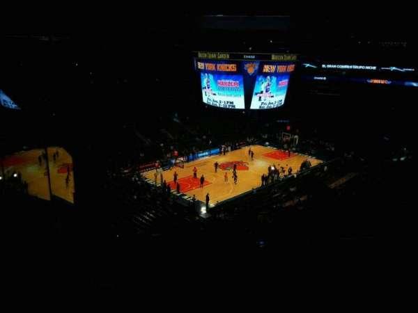 Madison Square Garden, sección: 220, fila: 13, asiento: 20