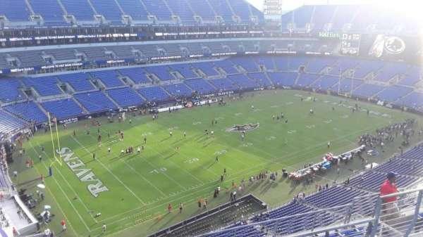 M&T Bank Stadium, sección: 505, fila: 8, asiento: 8